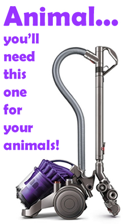 Dyson Animal Cylinder Vacuum Cleaner for Pets Dogs