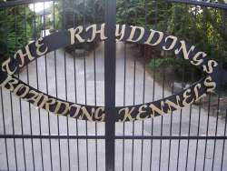The Rhyddings Boarding Kennels Logo